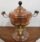 Victorian Copper Tea Urn